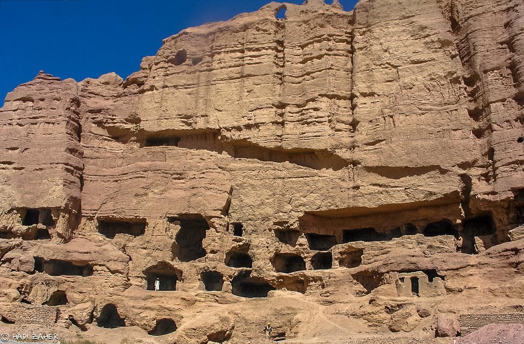 Ancient Buddhist Caves Bamiyan Afghanistan Artists