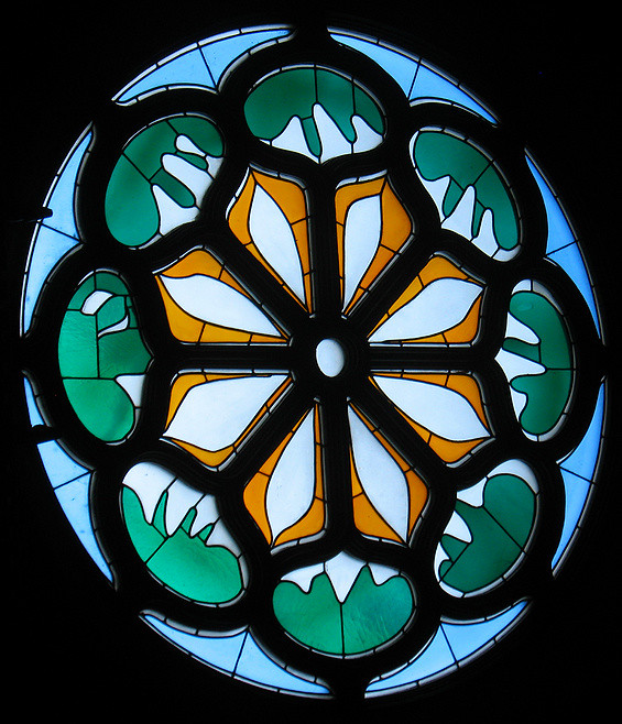 rose window henri matisse this was the last art piece co flickr. Black Bedroom Furniture Sets. Home Design Ideas