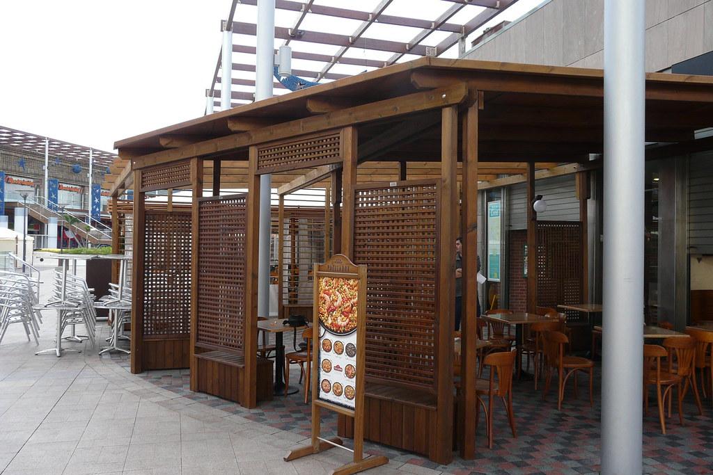 Gardendekor88 pergola de madera para terrazas y cafeterias - Pergolas de madera valencia ...