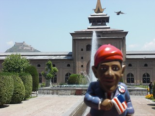 Obama Gnome in India | by GardenGnomeWorld.com
