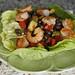 lime black bean salad with shrimp