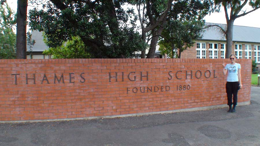 Thames High School - Founded 1880