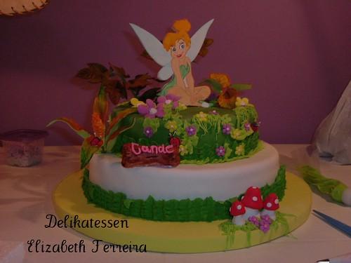 Torta de Tinkerbell (Campanita)   Flickr - Photo Sharing!