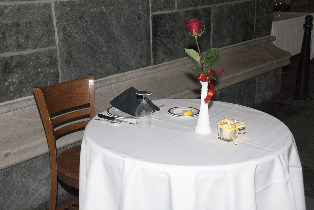 Table for fallen comrades a small table set for one it for Table 6 usmc