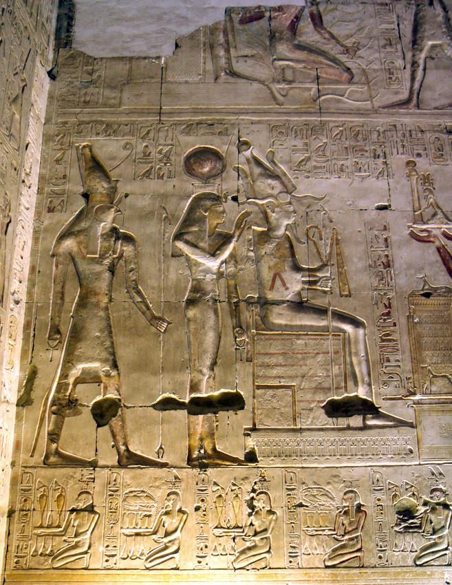 Templo De Sethi I En Abidos , Primera Sala Hipstila  Aby -6864