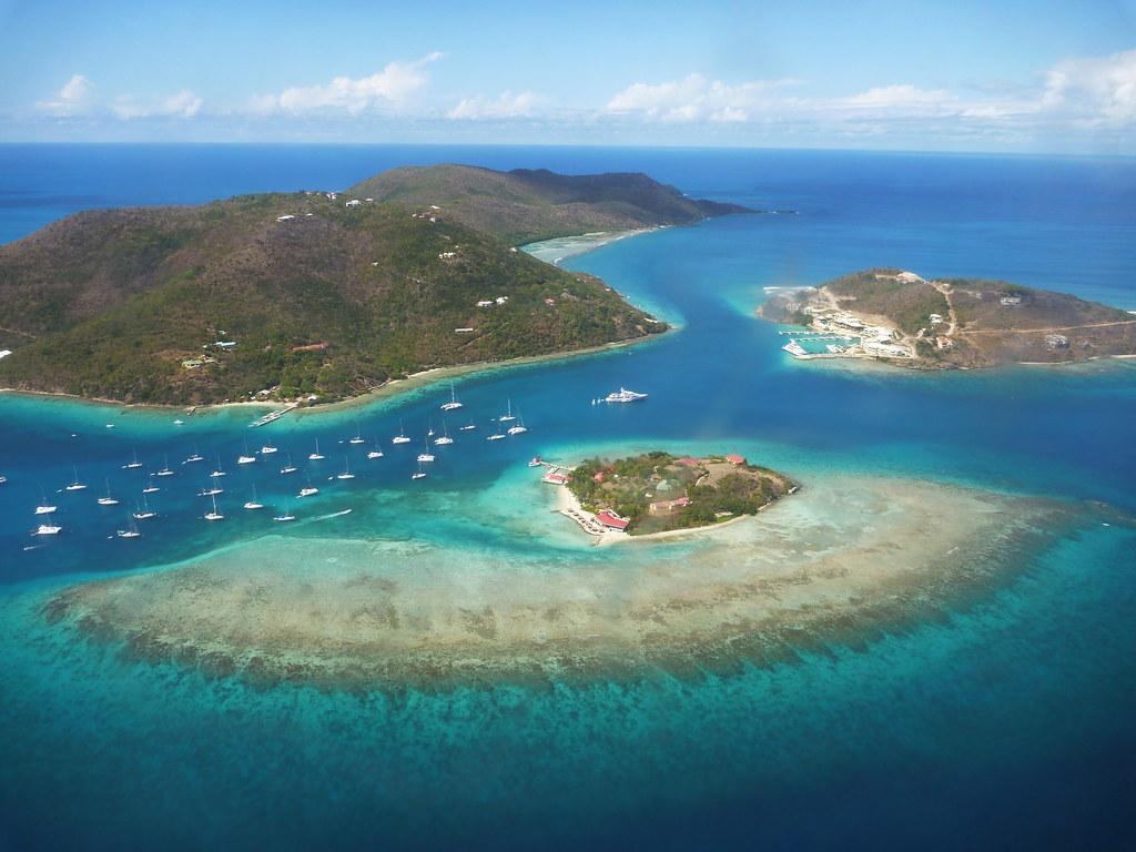 Tortola >> Marina Cay BVI | An ariel shot of Marina Cay off Tortola in … | Flickr