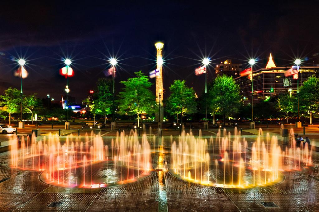 Centennial Park Atlanta Ga Restaurants