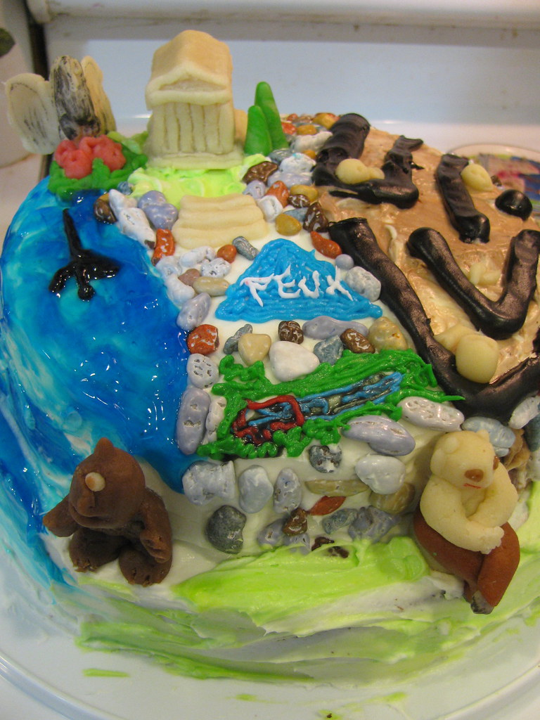 Percy Jackson The Olympians Cake The Boy Wanted A Greek Flickr