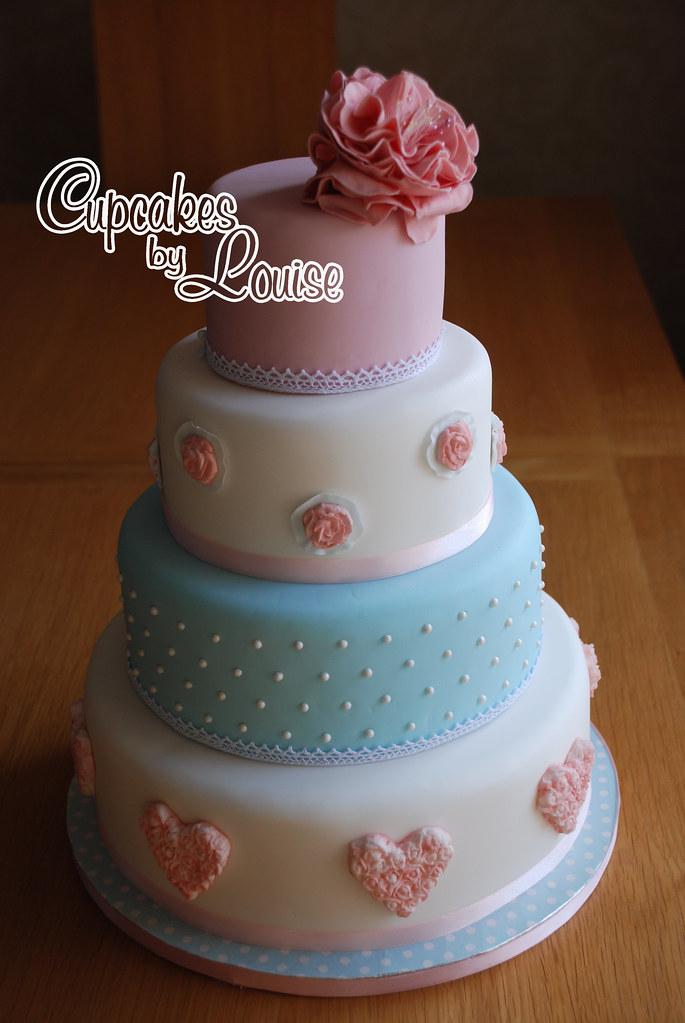 Map Wedding Cake