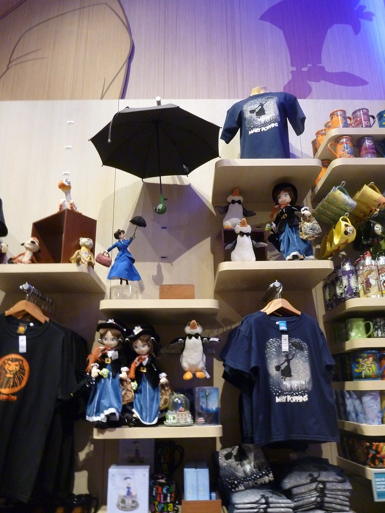 Mary Poppins Items At Disney Store Times Square Disney
