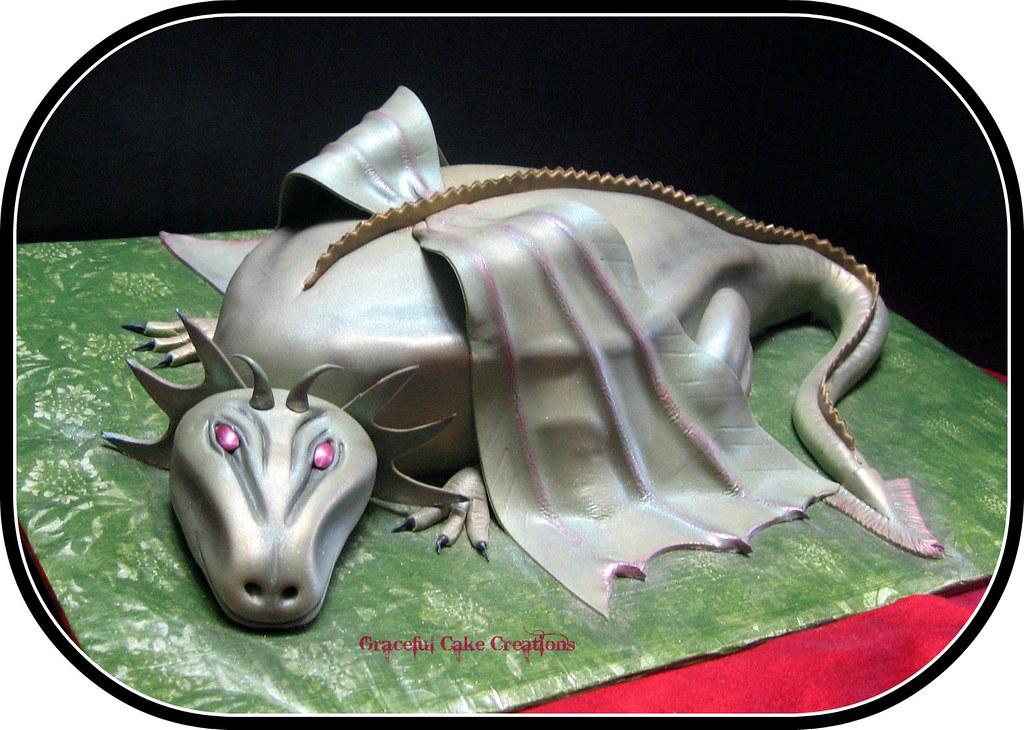 Dravon Cake  Cupcakes