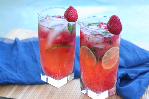 strawberry mojitos | by kokocooks