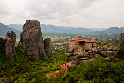 Roussanou Monastery, Meteora, Greece | by IngridaG
