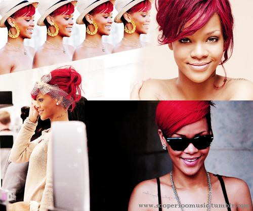 Rihanna collage | Flickr - Photo Sharing!: https://www.flickr.com/photos/100per100music/5547079840
