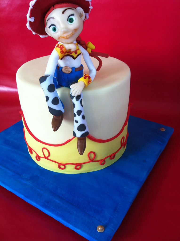 Haley | Toy Story Jessie cake for a little one turing 3 ...