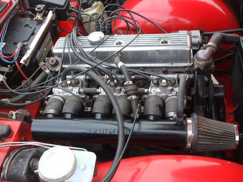 1973 triumph tr6 engine carandclassic co uk flickr