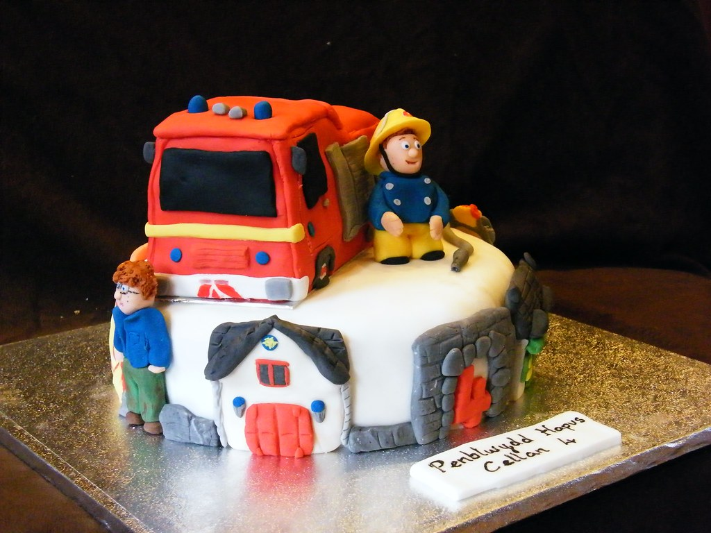 Fireman Sam Cake Decorations