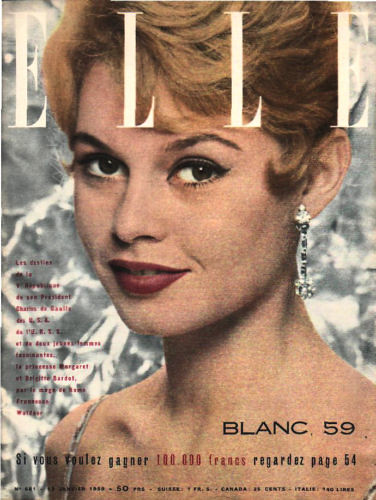 ELLE-January 1959 | by Fashion Covers Magazines (First)