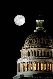 Super Full Moon and Capitol | by law_kid