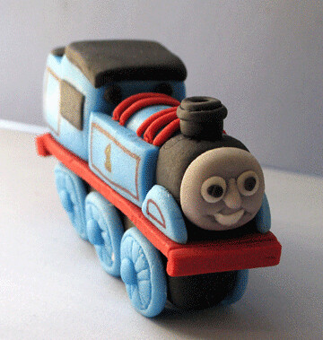 Thomas The Train Fondant Cake Topper