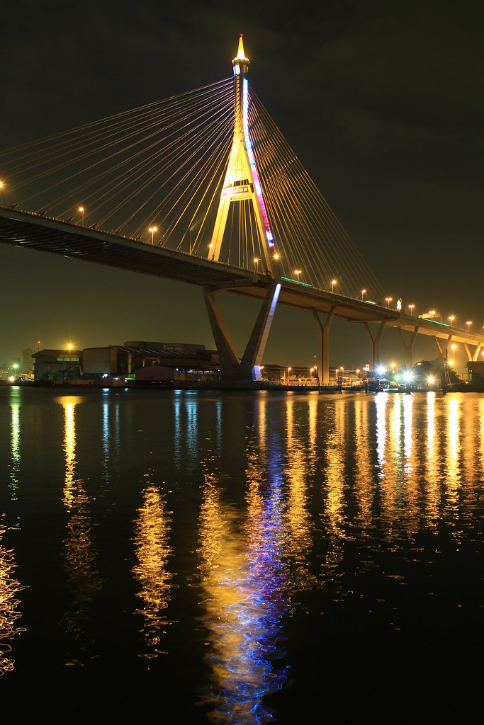 6647 | The Bhumibol Bridge (Thai: สะพานภูมิพล), also known ...