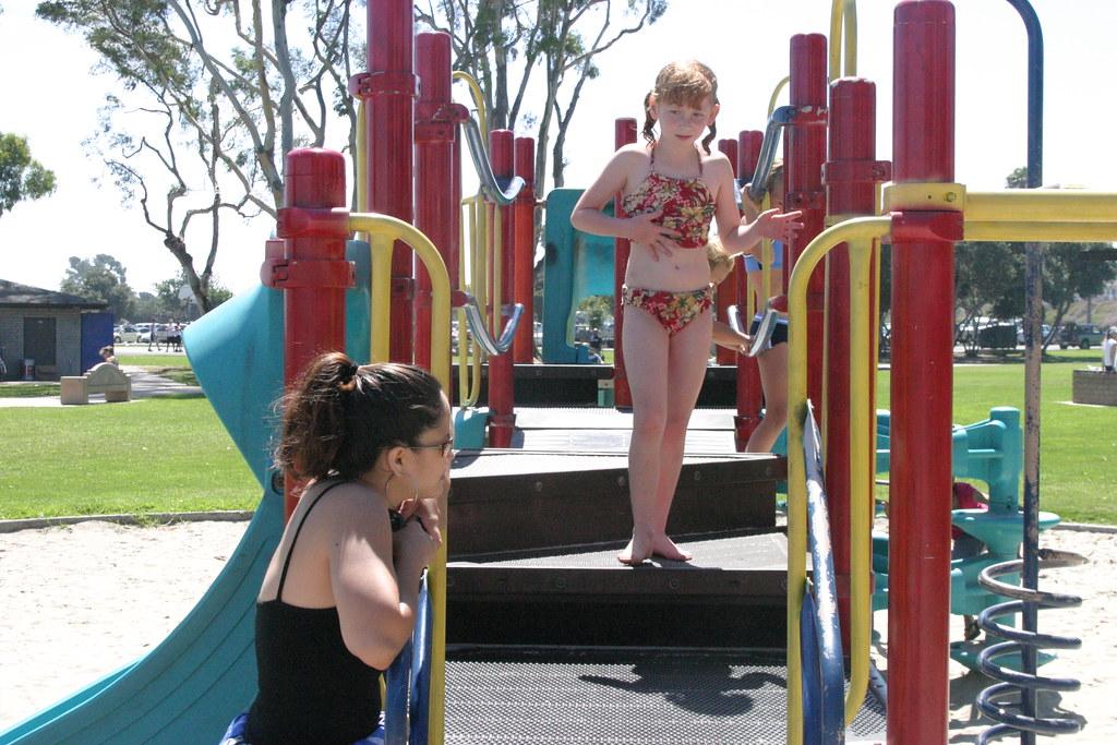 Girls at Playground | Patty Mooney | Flickr