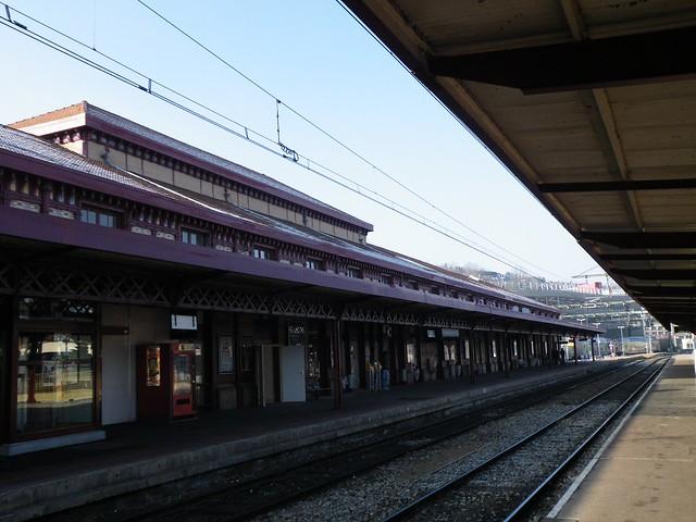 st etienne chateaucreux train station flickr photo sharing. Black Bedroom Furniture Sets. Home Design Ideas