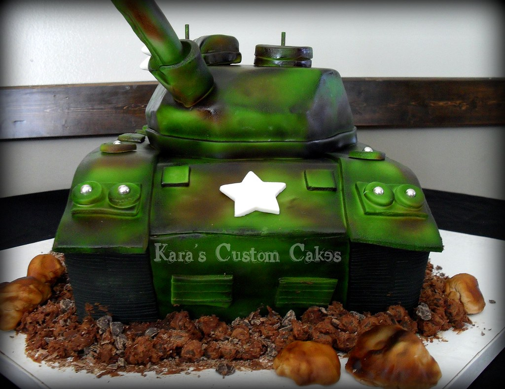 Army Tank Cake 3d Army Tank Cake Everything Is Edible