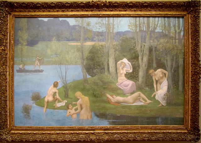 Summer, 1891; by Pierre Puvis de Chavannes