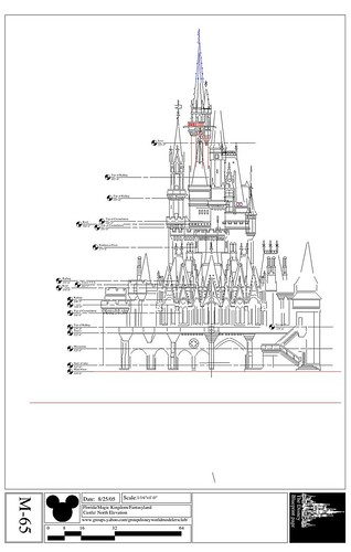 Cinderella S Castle North Elevation Flickr Photo Sharing