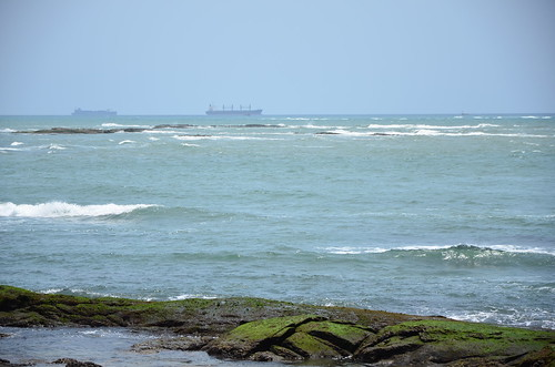 Oil tankers off Takoradi | by Ben Sutherland