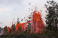 Lava fountains. | by Islomanic