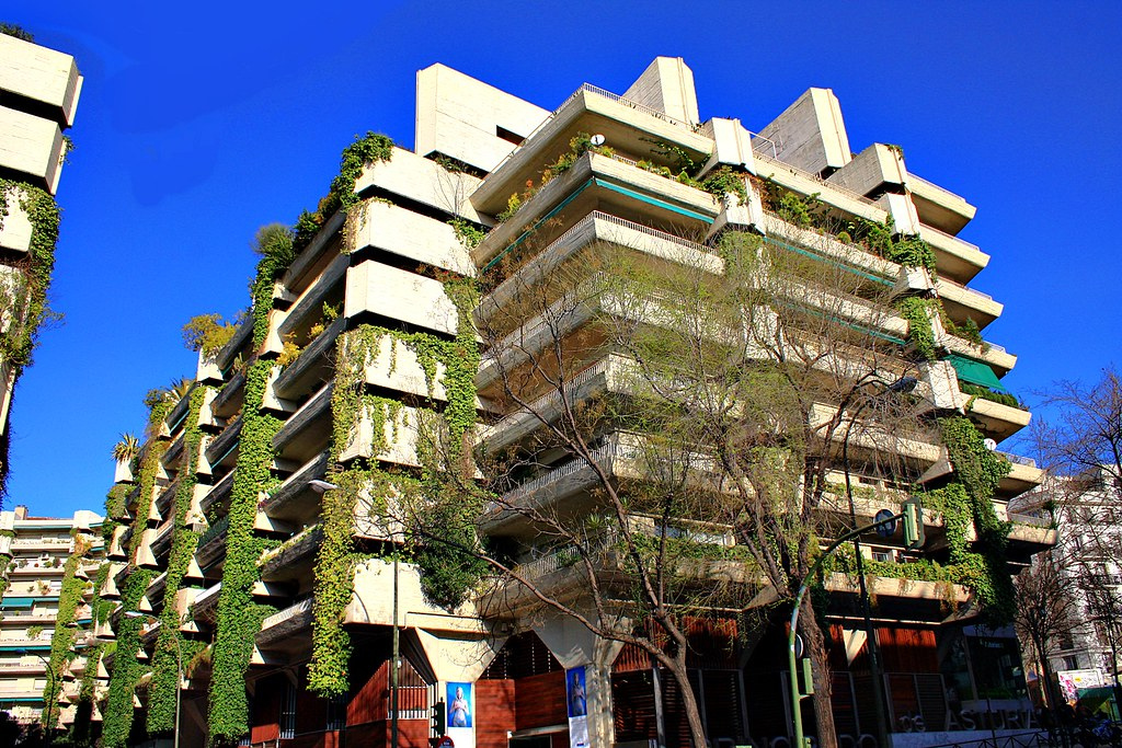 Casas del arquitecto fernando higueras calle san bernardo - Fernando higueras ...