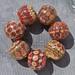 """""""PERSIAN RUG"""" MruMru Boro Beads set. SOLD."""