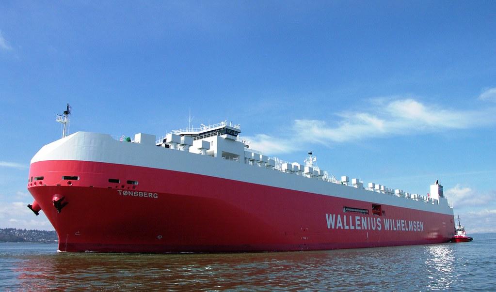 Mv T 248 Nsberg World S Largest Ro Ro Vessel The Largest