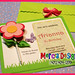 283 - Flower invitation with lollipop