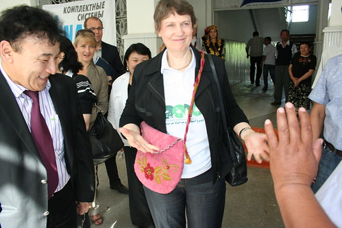 Helen Clark visits Kyrgyzstan | by United Nations Development Programme