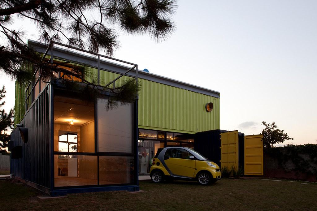 Casa container projeto casa container arquiteto danilo for Casa in container