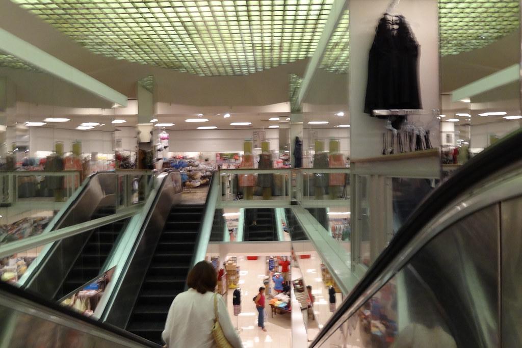 Belk Former Leggett Tanglewood Mall Escalator Well