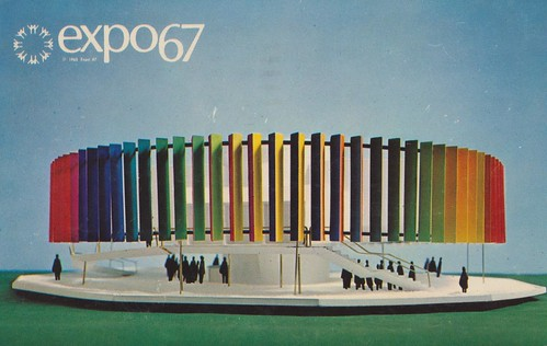 The Kaleidoscope Pavilion at Expo '67 - Montreal, Quebec | by The Cardboard America Archives