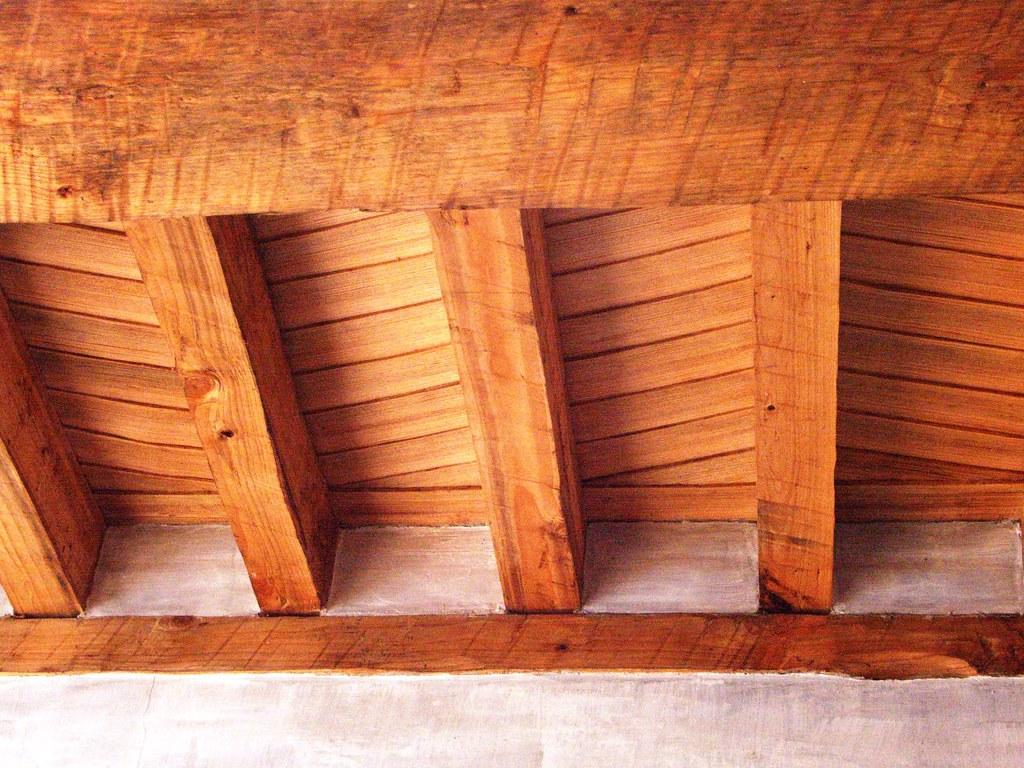 Tejamanil Detail | Prized wood tejamanil ceiling. novinger ...