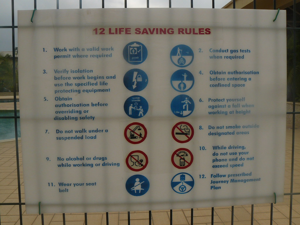 Swimming Pool Rules Aesthetistician Flickr