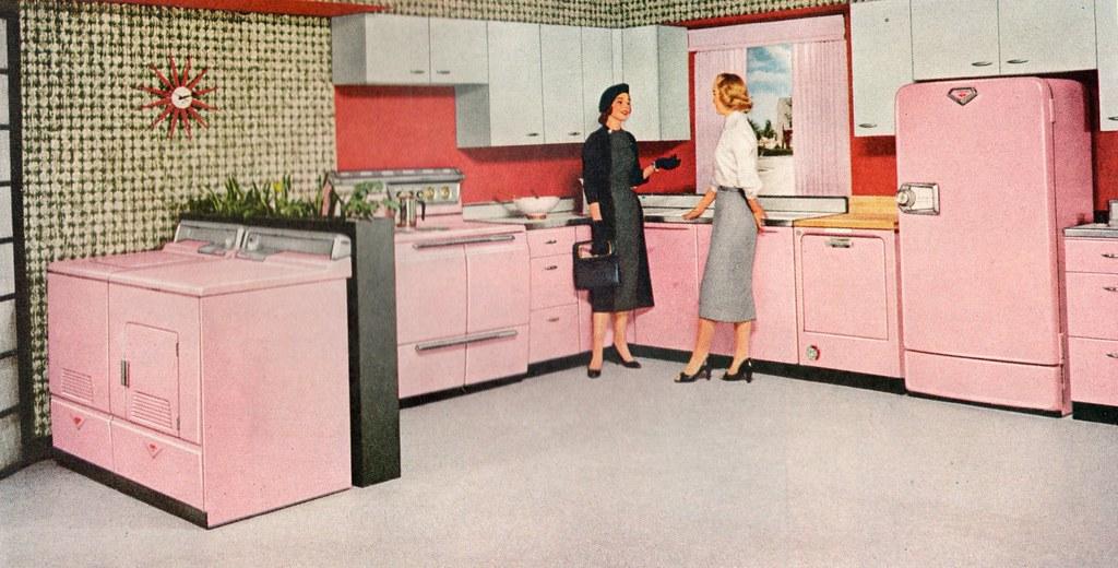 1950s Kitchen 1950s style kitchen appliances retro appliances 1950's appliances