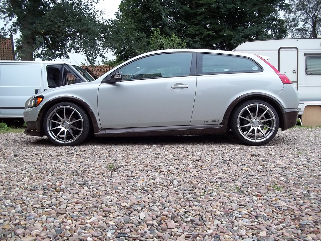 Volvo C30 On Tomason Tn1 In 19 Quot My C30 Standing On New