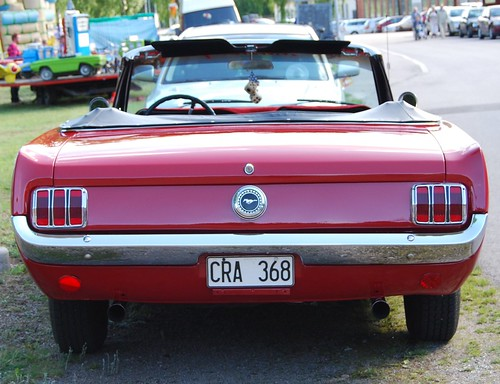 Ford Mustang convertible 1966 rear | by sweden man