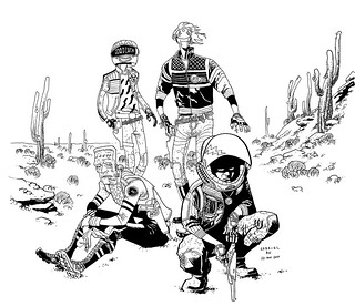 Killjoys pinup - ink | by 10paezinhos