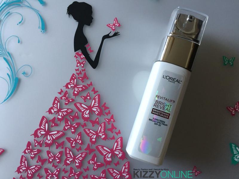 moisturizer L'Oreal Revitalift Bright Reveal