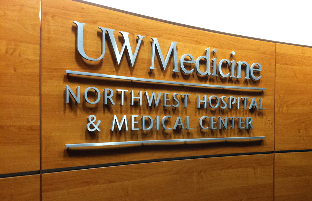Medical center signage interior hospital signage inter - Interior design jobs washington state ...