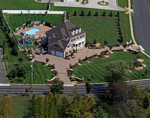 High end landscape photo custom swimming pool pavers for High end landscape design