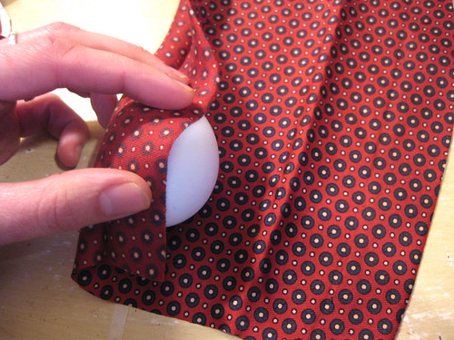 Dyeing eggs with silk ties | by foxflat